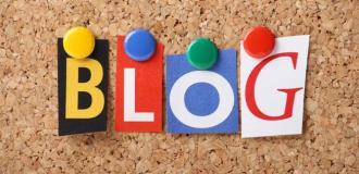 Blog noticeboard