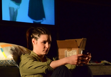 Anna in Jumping Puddles played by Lauren Kellegher