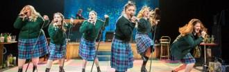 Our Ladies feat. Caroline Deyga (Chell), Kirsty MacLaren (Manda), Melissa Allan (Orla), Frances Mayli McCann (Kylah), Dawn Sievewright (Fionnula), Karen Fishwick (Kay)